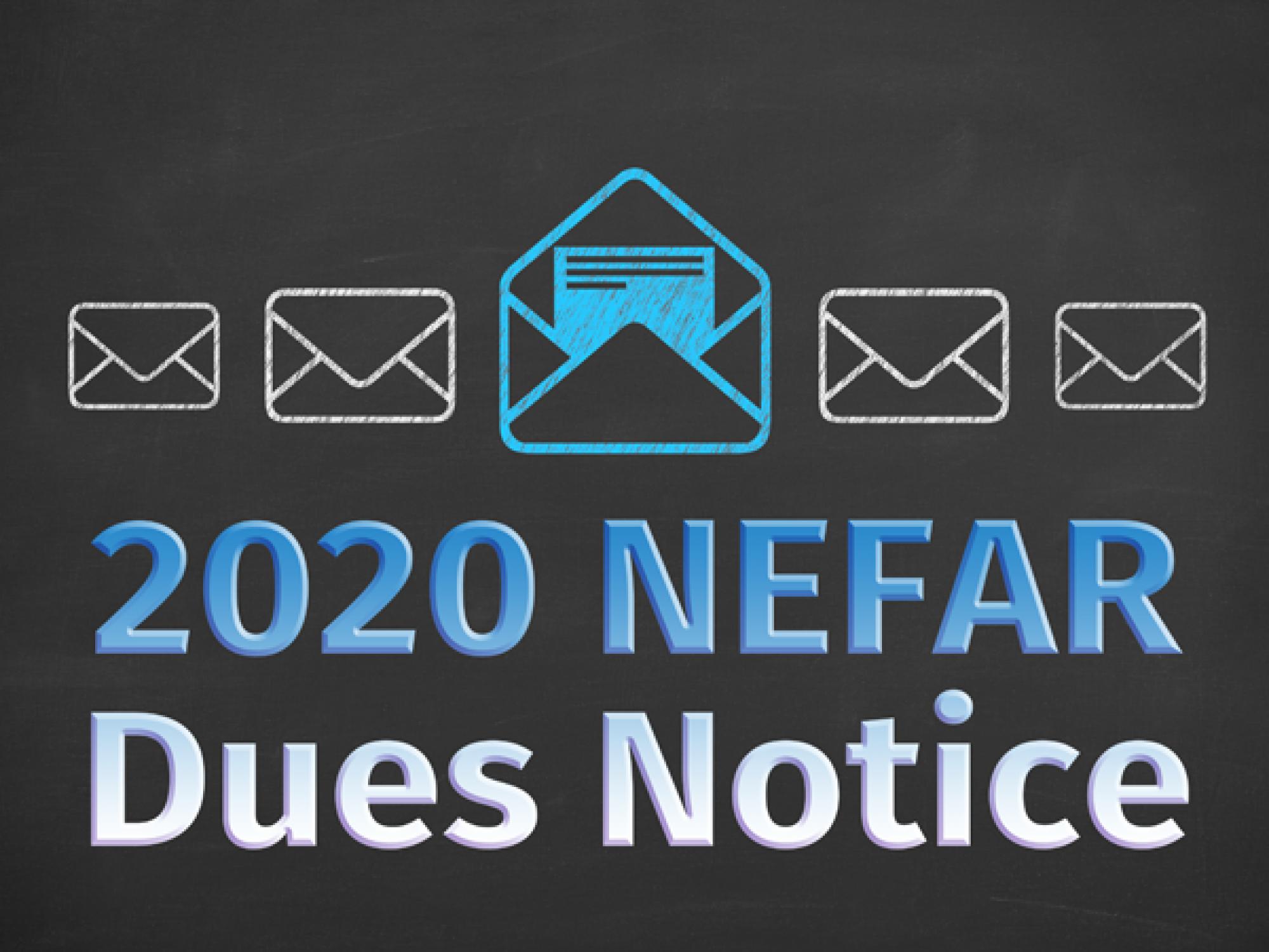 2020 NEFAR Dues Notice
