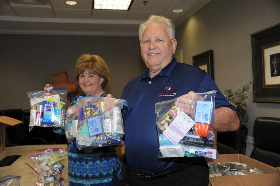 9-1-17 NEFAR Donates Totes of Hope