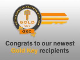"56 REALTORS® earn their ""Gold Keys"""