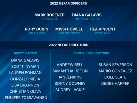 NEFAR to welcome a new board of directors in January
