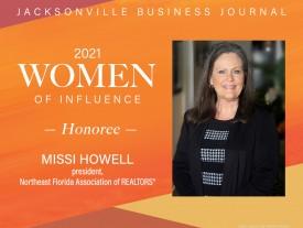 NEFAR President among 2021 Women of Influence honorees