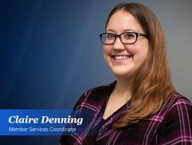 Claire Denning: Bringing a blast of positivity to NEFAR's membership department