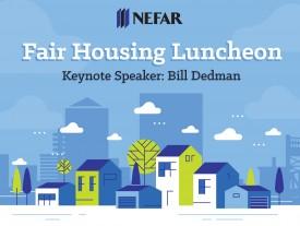Prize-winning investigative journalist to speak at NEFAR Fair Housing luncheon