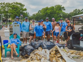 More than 1,500 pounds of trash collected during NEFAR's Waterway Clean-up