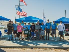 NEFAR REALTORS help keep St. Johns River clean and tidy
