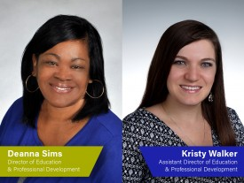 Deanna Sims and Kristy Walker to head NEFAR Education Department