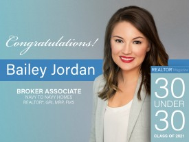Bailey Jordan inducted into the 30 Under 30 class of 2021