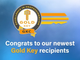 Forty-two REALTORS® earn Gold Key pins in September