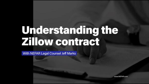 Understanding the Zillow contract