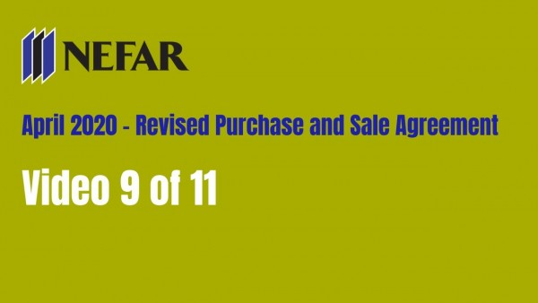 4/20 Purchase and Sale Agreement changes - page 9 of 11
