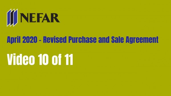 4/20 Purchase and Sale Agreement changes - page 10 of 11